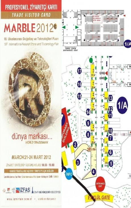 2012 IZMIR FAIR 461x730 18. İzmir Uluslarası Mermer Fuarındayız