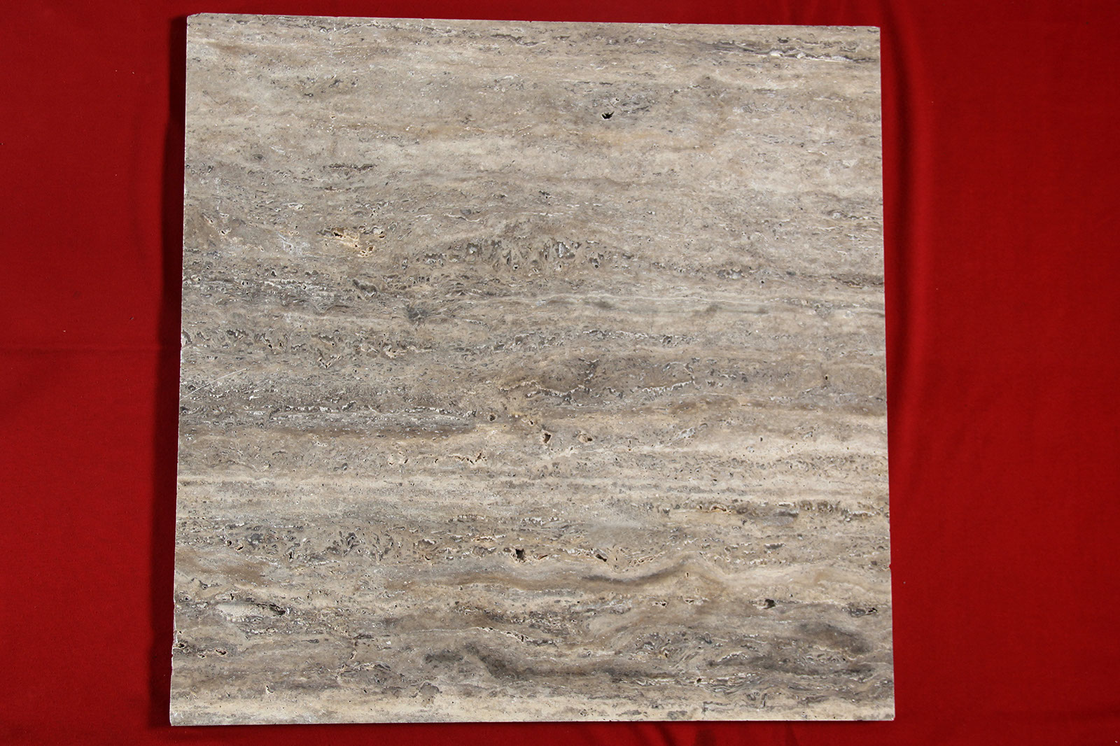 Silver Travertine Wein Cut